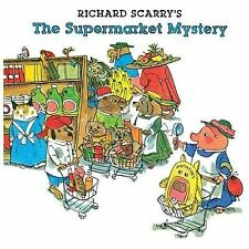 Richard Scarry's The Supermarket Mystery-ExLibrary