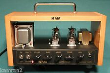 KAM Lumberjack boutique tube amp head, Luch box 8 -15 watts with Ruby tubes