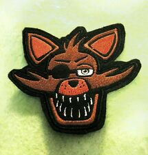 FNAF Five Nights at Freddy's Foxy fox embroidered iron on patch 85mm