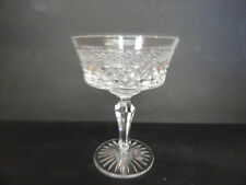 ROYAL DOULTON CARLYLE CRISS CROSS HATCH CHAMPAGNE TALL SHERBET GLASS