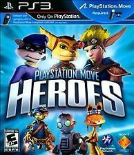 PLAYSTATION 3 MOVE HEROES BRAND NEW VIDEO GAME RATCHET & CLANK & JAK DAXTER SLY