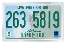 NEW HAMPSHIRE USA LICENSE PLATE FRIDGE MAGNET SOUVENIR IMAN NEVERA