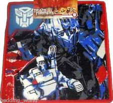 RUG TRANSFORMERS PRINTED BEDROOM FLOOR MAT OPTIMUS PRIME AUTOBOT RED BLUE TRUCK