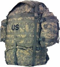 Rucksack MOLLE II ACU Large Field Pack Complete w/ Frame US Military Army Good
