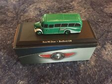 ATLAS EDITIONS RON W.DEW BEDFORD OB COACH DIE CAST MODEL- BRAND NEW