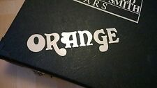 Orange Amplifiers Decal Logo Sticker for Guitar Hard Case, Amp Cab, Wall Art,