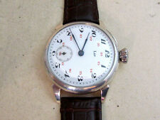 LIP Enamel dial Swiss vintage men's mechanical wristwatch
