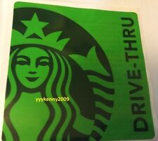 Starbucks Malaysia Drive-Thru Car Sticker -OFFER