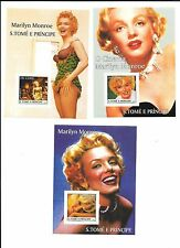 AFRICA- ( S.Tome E. Principe- St. Thomas)- Marilyn Monroe sheetlets- 5 low price