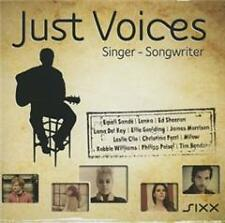 Just Voices-Singer-Songwriter von Various Artists (neu + OVP)  3-CD-Set