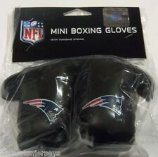 NIP NFL 4 INCH MINI BOXING GLOVES - NEW ENGLAND PATRIOTS
