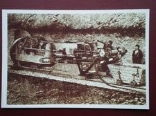 POSTCARD THE CHANNEL - LE SHUTTLE - 1878 DRILLING MACHINE
