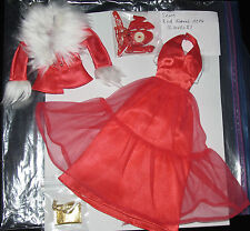 Mattel vintage BARBIE red formalmente Sears Exclusive procedentes de estados unidos-rar