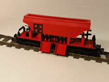 LEGO CUSTOM TRAIN 9V - SANTA FE BULK WAGON  - 11 INCH LONG -