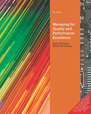 Managing for Quality and Performance Excellence by James R. Evans and William...