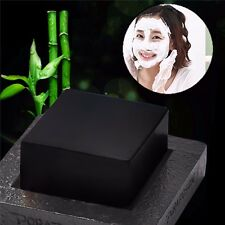 Pop Bamboo Charcoal Handmade Soap Blackhead Remover Oil Control Whitening Soap