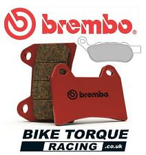 Harley Davidson 1584 FXDF Fat Bob 08-10 Brembo SP Sintered Rear Brake Pads