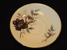 Royal Imperial Finest Bone China Light & Dark Rose Pattern 14 cm Saucer