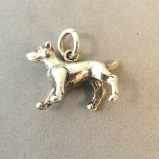 .925 Sterling Silver 3-D JACK RUSSELL TERRIER CHARM NEW Dog Pendant 925 DG40