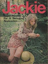 Jackie Magazine 4 September 1971 No.400   Mick Jagger   The Move   John Kongos