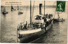 CPA  Quiberon (Morbihan) - Arrivée du Bateau de Belle-Ile     (209778)