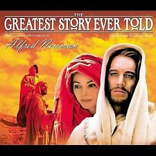 The Greatest Story Ever Told Soundtrack by Alfred Newman (3 CD BOX SET) LIKE NEW