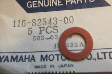 YAMAHA TX750  XT500  XS750  GENUINE NOS NEUTRAL SWITCH GASKET - # 116-82543-00