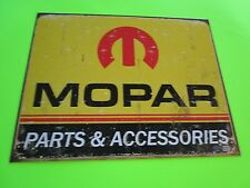 tin decor gas oil garage dealer repair shop dodge mopar hemi chrysler desot 1315