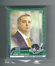2010/11 Plymouth Whalers Team Issued Card Set TOM WILSON