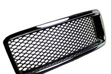 VOLVO XC90 2002 - 2015 MESH Sport Grille MATTE BLACK MESH with CHROME FRAME