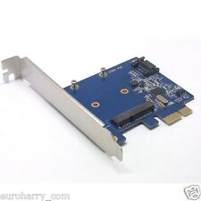 Mini PCI-e SSD 7pin SATA 3.0 52pin mSATA combo PCI-e PCI Express card 6.0 Gbps
