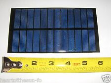 6V x 250 mA Mini Solar Panel encapsulated virtually indestructible solar cells