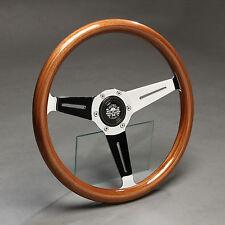 Volante madera volante deportivo madera 350mm buje bmw e21 e12 e24 e23 323i 535i 745i nuevo