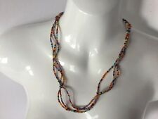 Southwest Style Multi Strand / Color Bead Necklace Fashion Jewelry