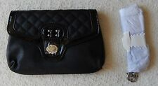 NEW Grace Adele TATE Black Clutch Purse Bag with 22 inch detachable strap