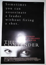 "The Contender (2000) original one sheet movie poster (27""x40"") D/S"