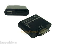 USB OTG Host Adapter+SD Card Reader for Samsung Galaxy Tab 2 10.1 8.9 7.7 7.0