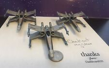 Micro Machines Star Wars Action Fleet X Wing Alpha Lot Of 3 Prototypes