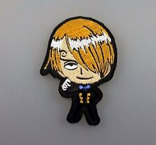IRON PATCH LOGO embroidered sew ONE PIECE cartoon kid sanji toy game
