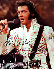 Elvis Presley 1973 Aloha from Hawaii Signed Photo Autograph Reprint