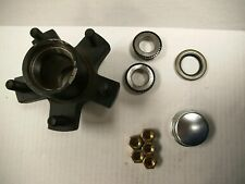 "TRAILER WHEEL HUB BEARINGS ASSEMBLY 5 LUG ON 4.5 CIRCLE 1"" SPINDLE CLOSEOUT"