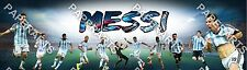 Personalized Messi Argentina FIFA soccer football team Name Banner Poster