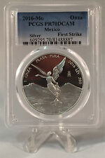 2016 Libertad Proof PCGS PR70DCAM First Strike 1oz .999 Silver
