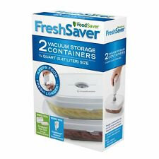 FoodSaver Deli Containers by FoodSaver (FSFRAN0224-P00) BRAND NEW , AOI