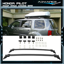 09 -15  Honda Pilot OE Style Black Cross Bars Sport Top Roof Rack Cross Bar