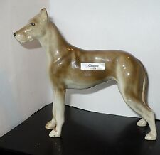 "VINTAGE ROBERT SIMMONS CERAMIC ARTWARE GREAT DANE ""CHAMP"" #113 FIGURE"