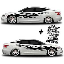 vinyl body side GRAPHICS car or truck sticker decal 002 - JDM Euro Import Racing