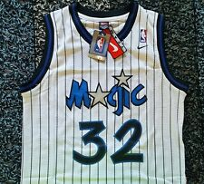 NWT Shaquille Shaq O'neal Orlando Magic Throwback Swingman Jersey NIKE L RARE