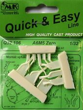 CMK 1/32 Mitsubishi A6M5 Zero Exhausts for Tamiya # Q32106