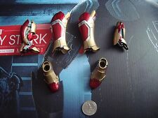 HOT TOYS 1/6 IRONMAN 3 WORKSHOP TONY STARK -  LEG ARMOR LOT -- US SELLER